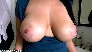 Cougar With Big Tits Gets Feasted Doggystyle In An Interracial Sex