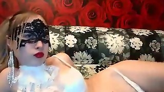 The girl in the mask Schikkk fucks with her boyfriend