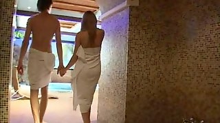 Sexy Amateur Teens Katarinka and Igor Insane Pool Fucking