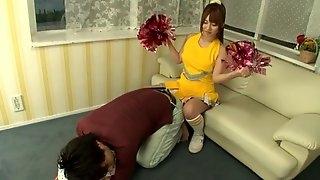 Japanese hottie Kokomi Naruse drops her panties to be fucked