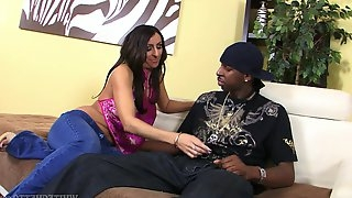 White whore with plump ass Raven Black is fucked by hot blooded BBC
