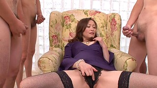 What to do with legs in stockings Vol 95