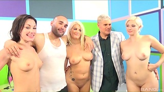 Naked women in serious cock sharing prepare undertaking