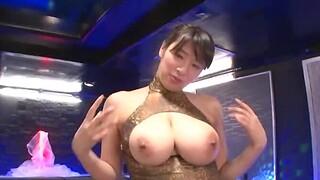 Busty Japanese babe Haruna Hana enjoys having sooner a be wearing intercourse