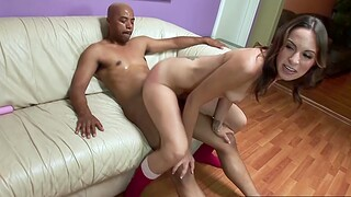Amber Rayne home alone on a Friday night and is mad at her mom for leaving her home alone